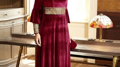 Alvina Elbiseli Takım Modelleri