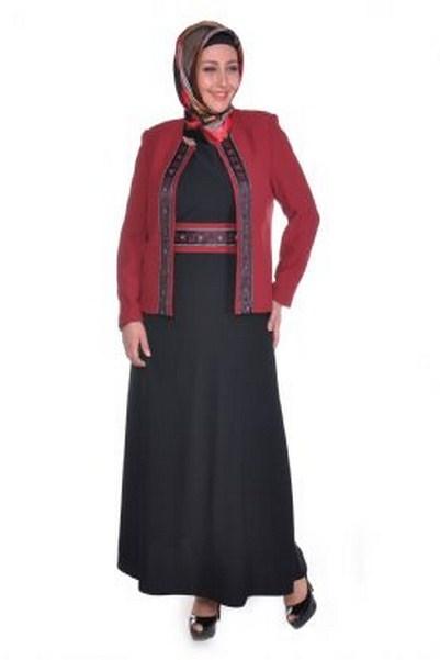 ceketli-tesettur-elbise-modelleri