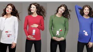 Hamile Tişört Modelleri