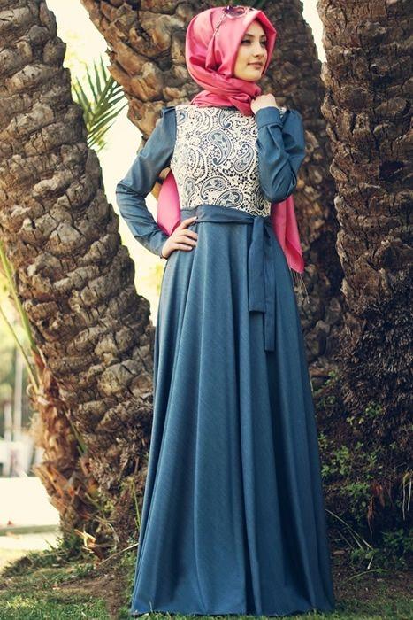 tesettur-dantelli-elbise-modelleri-8