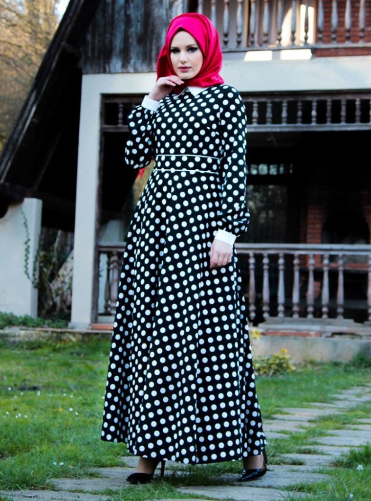 tesettur-puantiyeli-elbise-modelleri-8