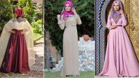 Tesettürlü Uzun Elbise Modelleri