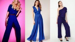 Bayan Mavi Tulum Modelleri