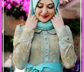 Gamze Polat 2016 Tesettür Abiye Modelleri