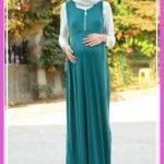 tesettür hamile elbise14