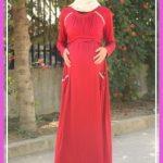 tesettür hamile elbise4