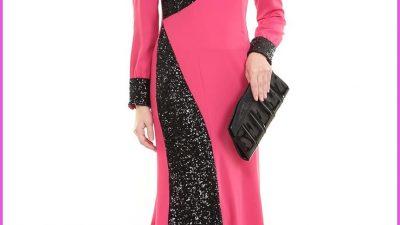 En Yeni Bayramlık Genç Tesettür Elbise Modelleri