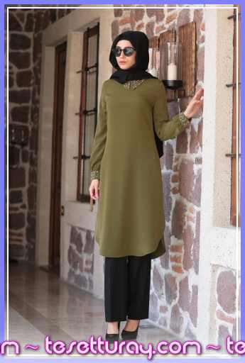 Shayan-Incila-Tunik-Yesil_149204_1