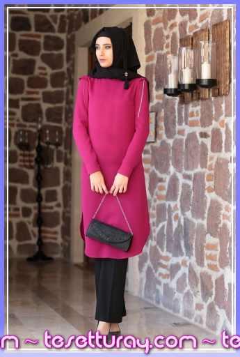 Shayan-Zincirli-Tunik-Fusya_149201_1