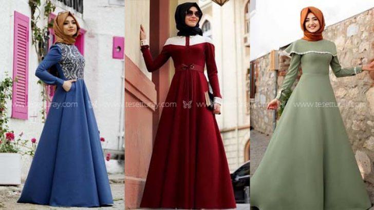 Gamze Polat Tesettür Elbise Modelleri