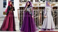 Gamze Polat Tesettür Abiye Modelleri